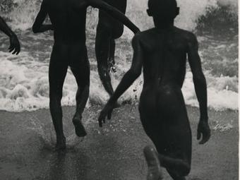 Martin Munkácsi: Three Boys at Lake Tanganyika (1930)