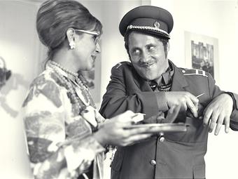 Gáspár Miklós ritkán látott képei az Egészséges erotika című film forgatásáról (1985)