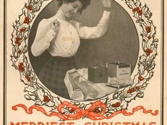 Karácsonyi Kodak reklámok (1900-1922)