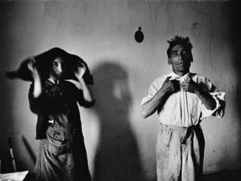 Josef Koudelka és Henri Cartier-Bresson