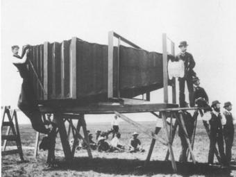 A világ legnagyobb fényképezőgépe (1900)