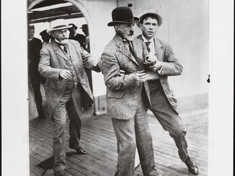 Fotók a New York-i polgármester elleni merényletről (1910)