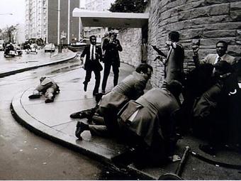A Reagan elleni merénylet Salgado fotóin (1981)