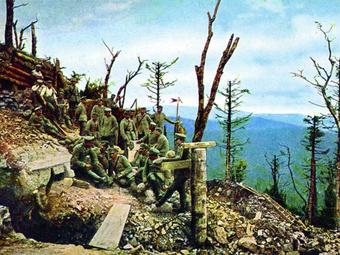 Hans Hildenbrand: Az első világháború színesben (1915-1916)