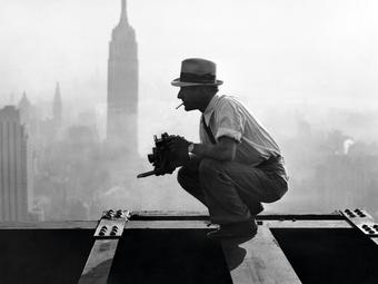 Charles C. Ebbets: A felhőkarcolók tetején (1932)