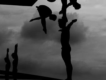 A hét fotója #232 - Adam Pretty: Műugrók Sanghajban (2011)