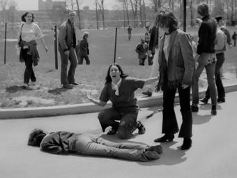 Manipulálták a Pulitzer-díjas fotót a Kent State egyetemi lövöldözésről