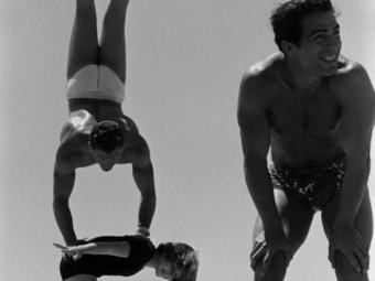A hét fotója  #236 - Loomis Dean: April Atkins, a világ legerősebb kislánya (1954)