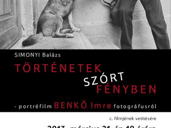 Portréfilm Benkő Imre fotográfusról