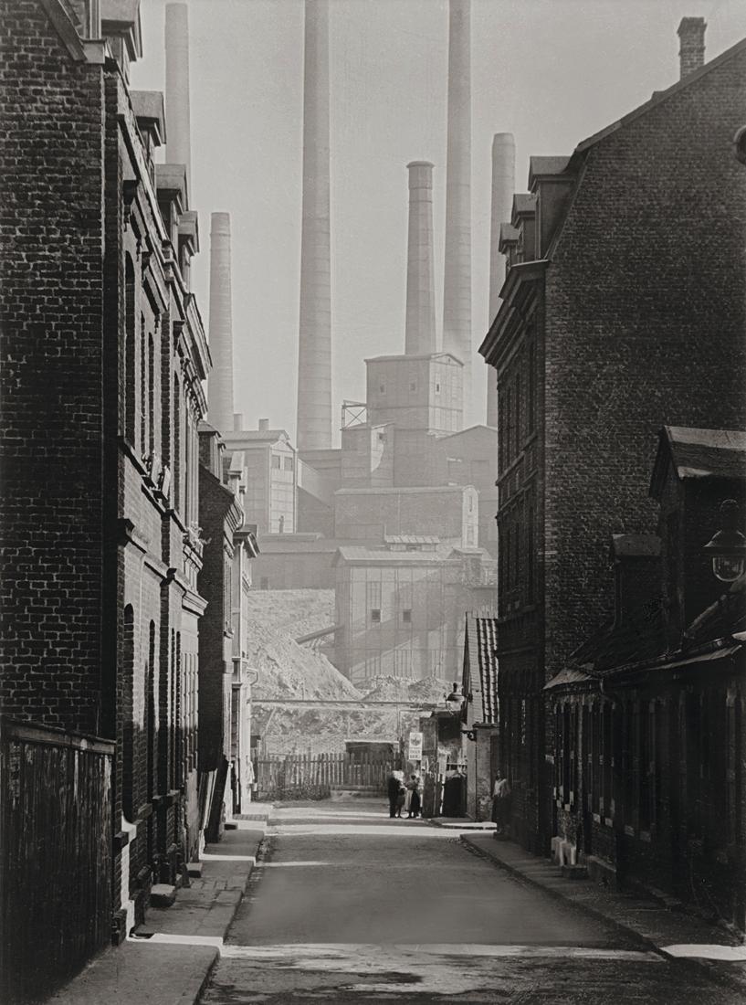 Fotó: Albert Renger-Patzsch: A Victoria Mathias szénbánya környéke Essen közelében, 1929 © Albert Renger-Patzsch / Archiv Ann und Jürgen Wilde, Zülpich / ADAGP
