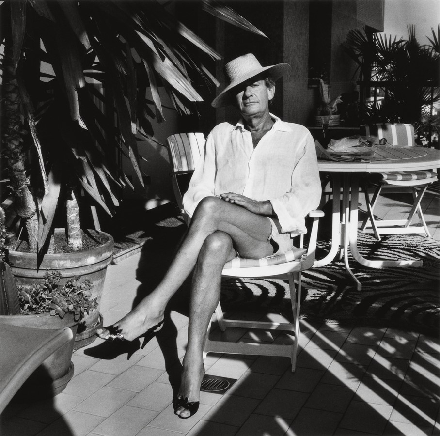 Fotó: Alice Springs: Helmut, Monte-Carlo, 1977 © June Newton and the Helmut Newton Estate