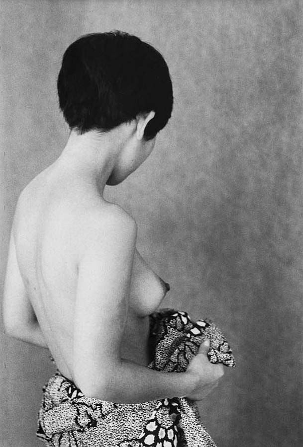 Fotó: Edouard Boubat: Japonaiserie. Paris, 1974 © Edouard Boubat