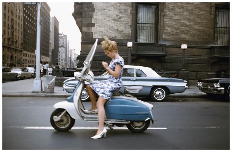Fotó: Joel Meyerowitz: New York City, 1965 © Joel Meyerowitz