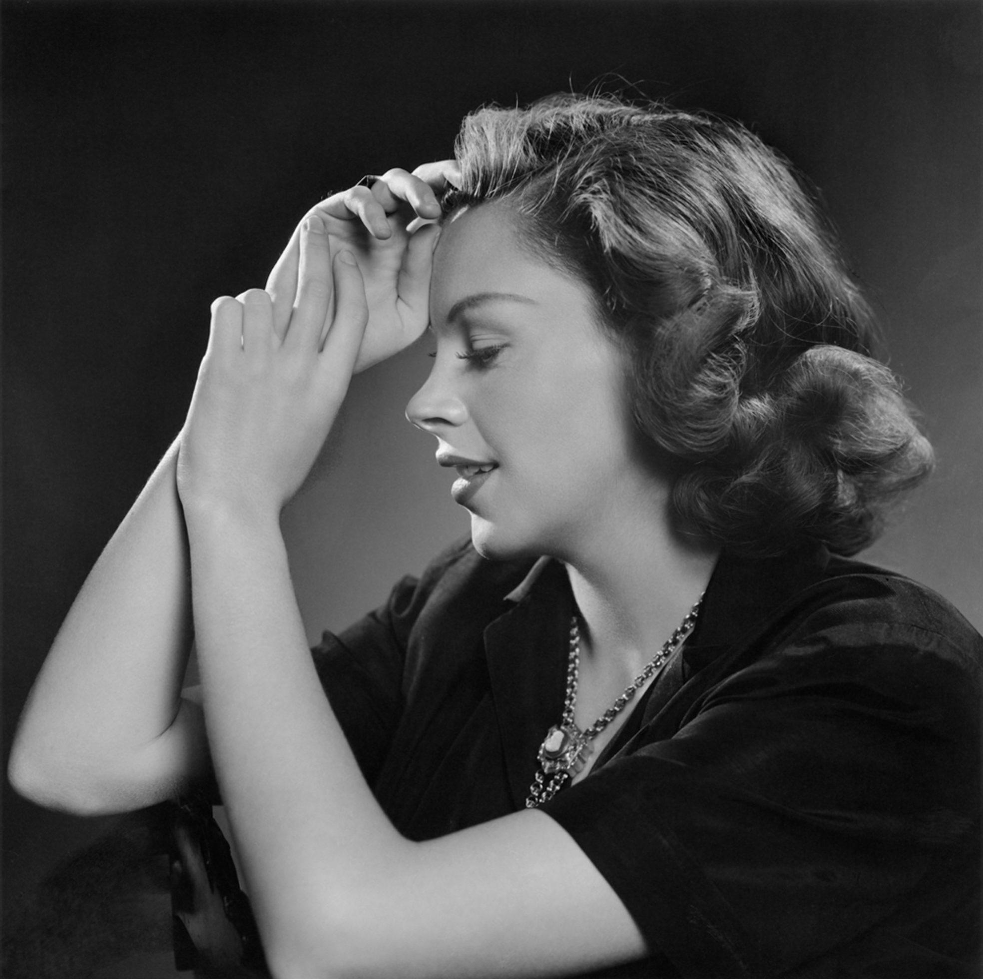 Fotó: Yousuf Karsh: Judy Garland, 1946 © Yousuf Karsh
