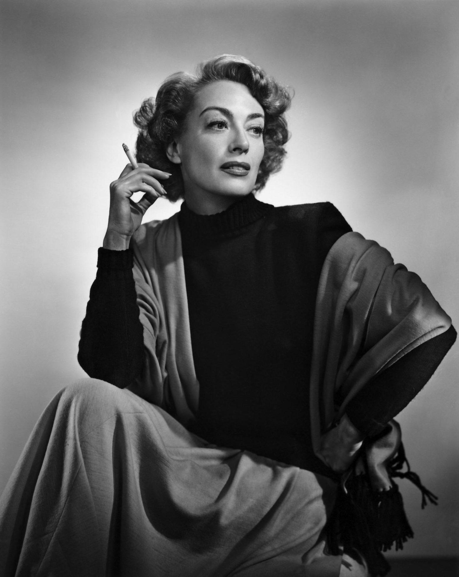 Fotó: Yousuf Karsh: Joan Crawford, 1948 © Yousuf Karsh