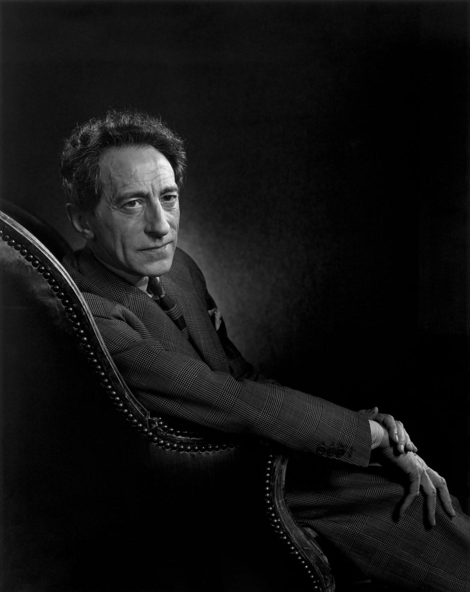 Fotó: Yousuf Karsh: Jean Cocteau, 1949 © Yousuf Karsh
