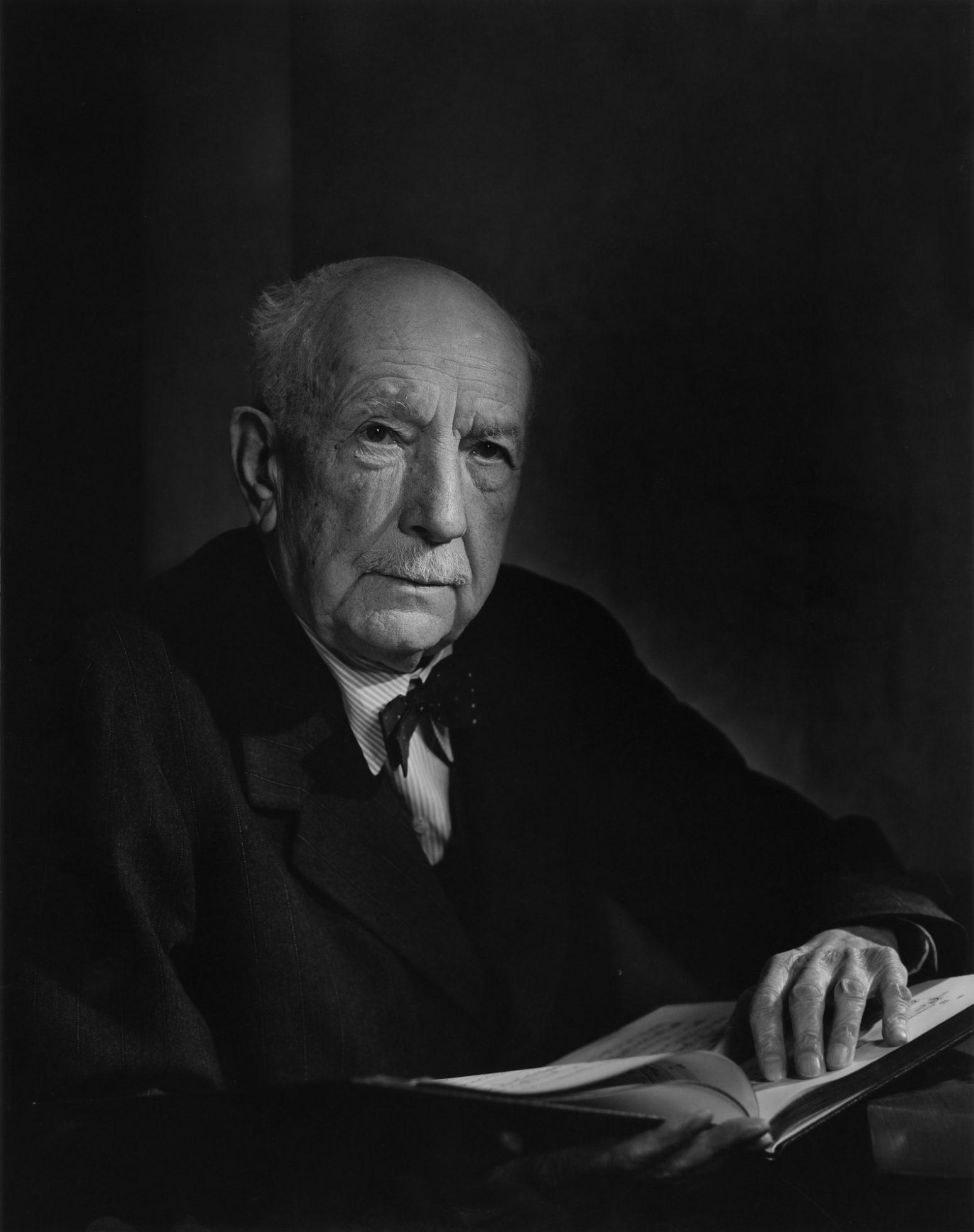 Fotó: Yousuf Karsh: Richard Strauss, 1949 © Yousuf Karsh