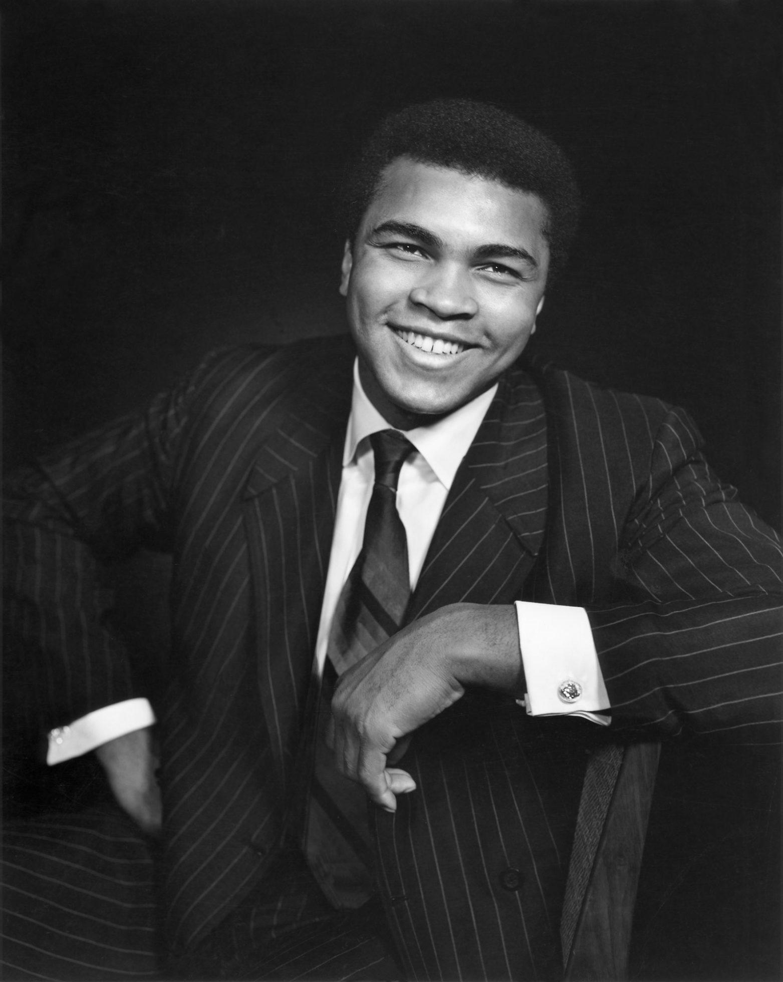 Fotó: Yousuf Karsh: Muhammad Ali, 1970 © Yousuf Karsh