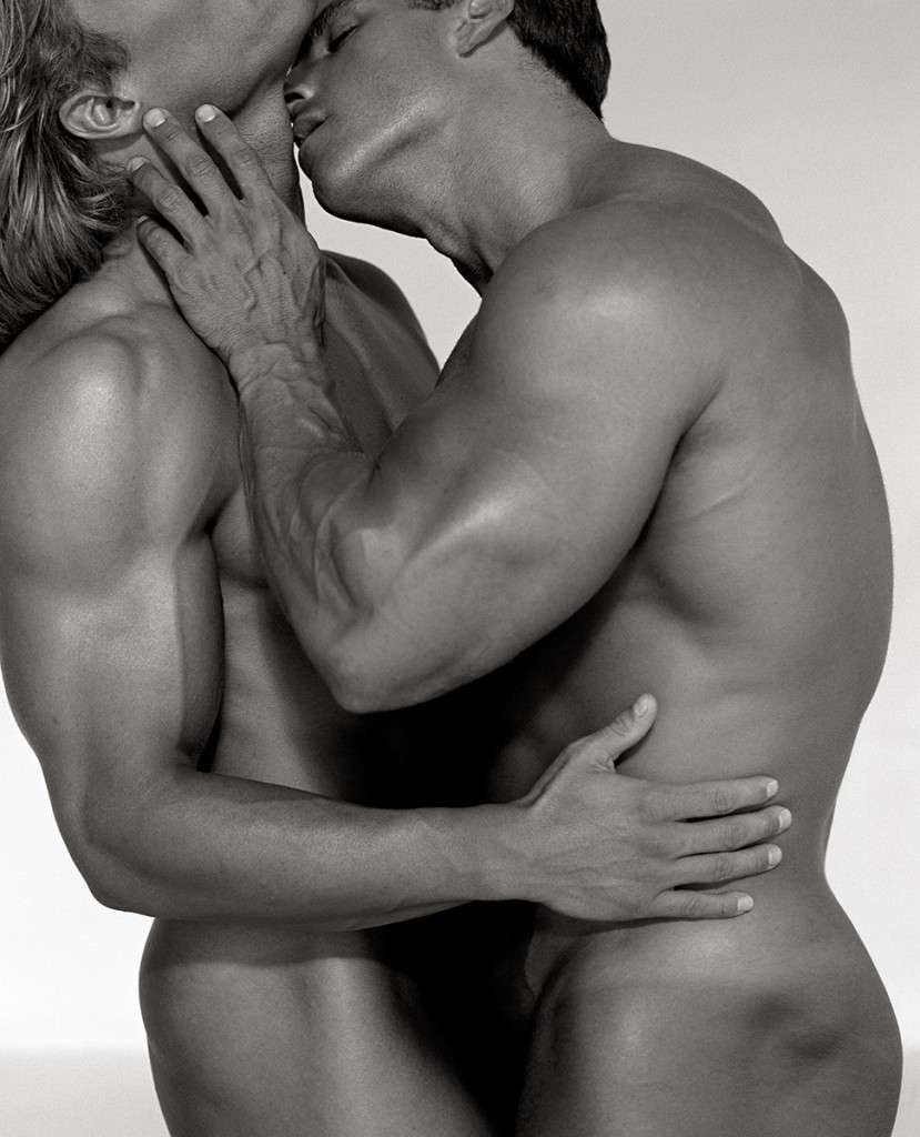 Fotó: Herb Ritts: Duo, Los Angeles 1990 © Herb Ritts Foundation Photograph