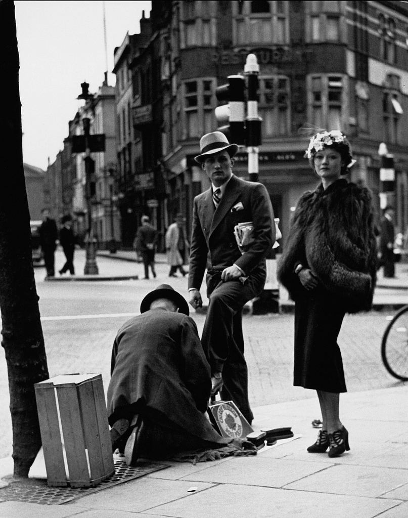 Fotó:Wolfgang Suschitzky: London, 1936 © Wolfgang Suschitzky