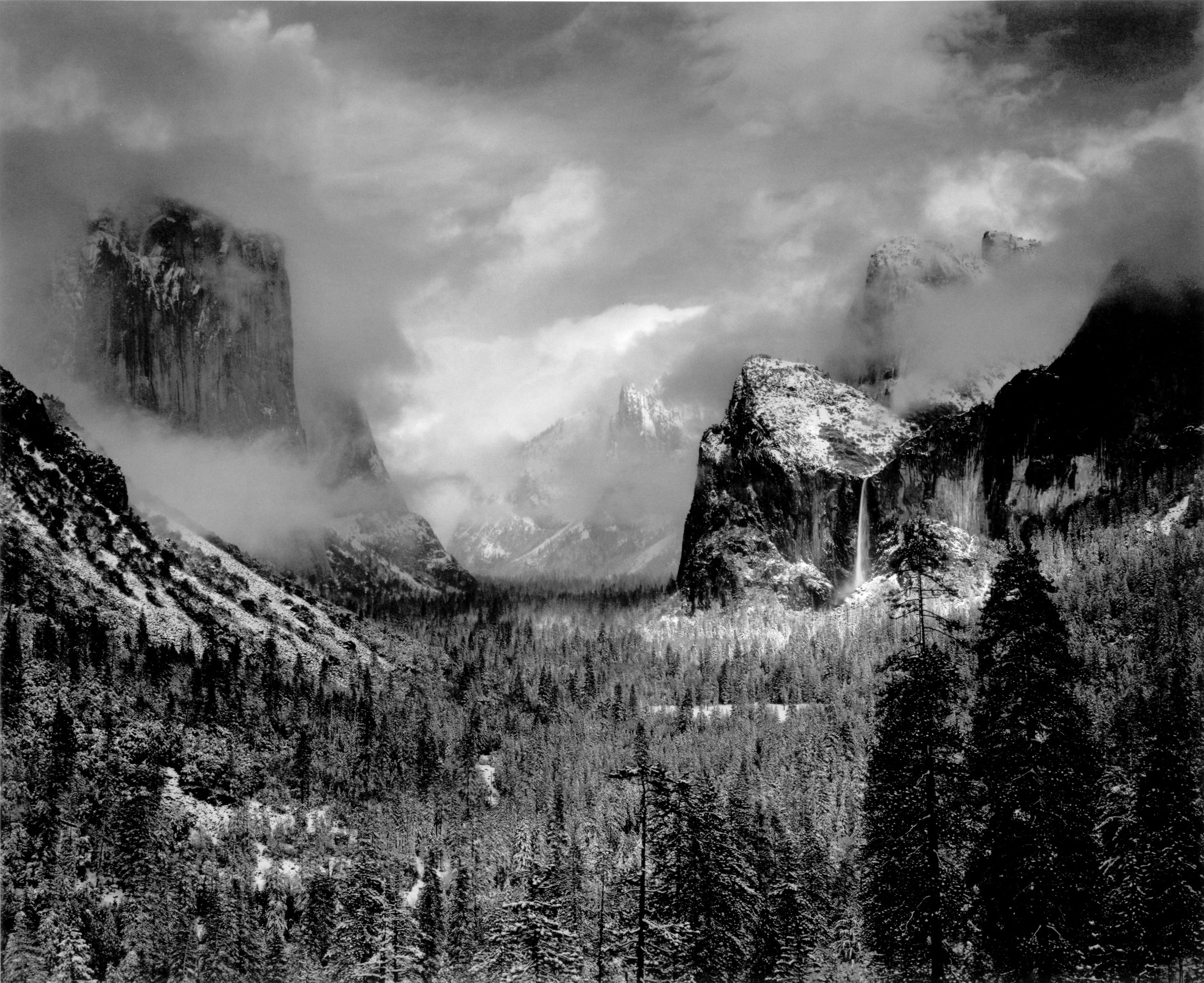 Yosemite Ansel Adams Quotes. QuotesGramAnsel Adams Clearing Winter Storm