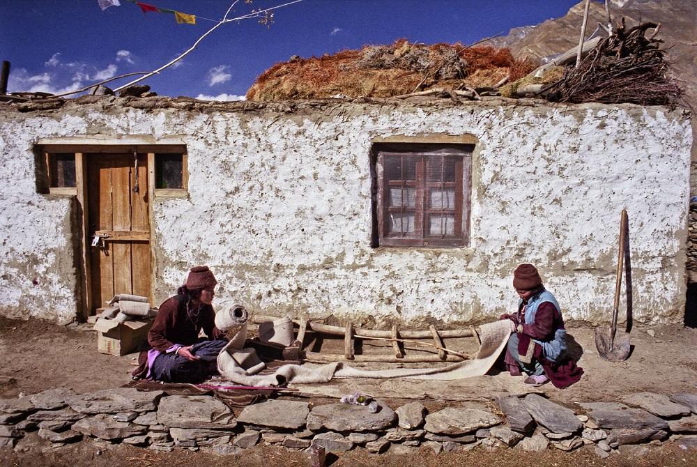 Fotó: Bácsi Róbert László: Részlet a Zanskar sorozatból, 2007