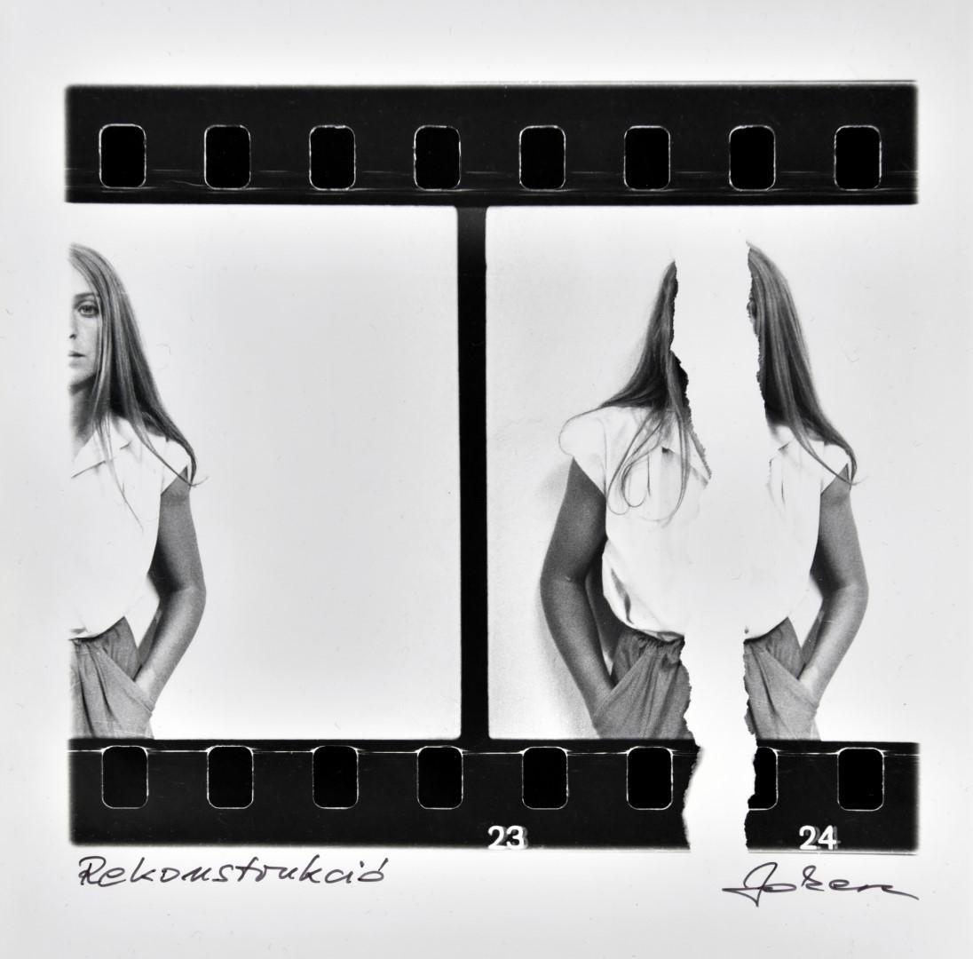 Fotó: Jokesz Antal, Rekonstrukció I Reconstruction, 1981 © Jokesz Antal/Courtesy of Vintage Galéria
