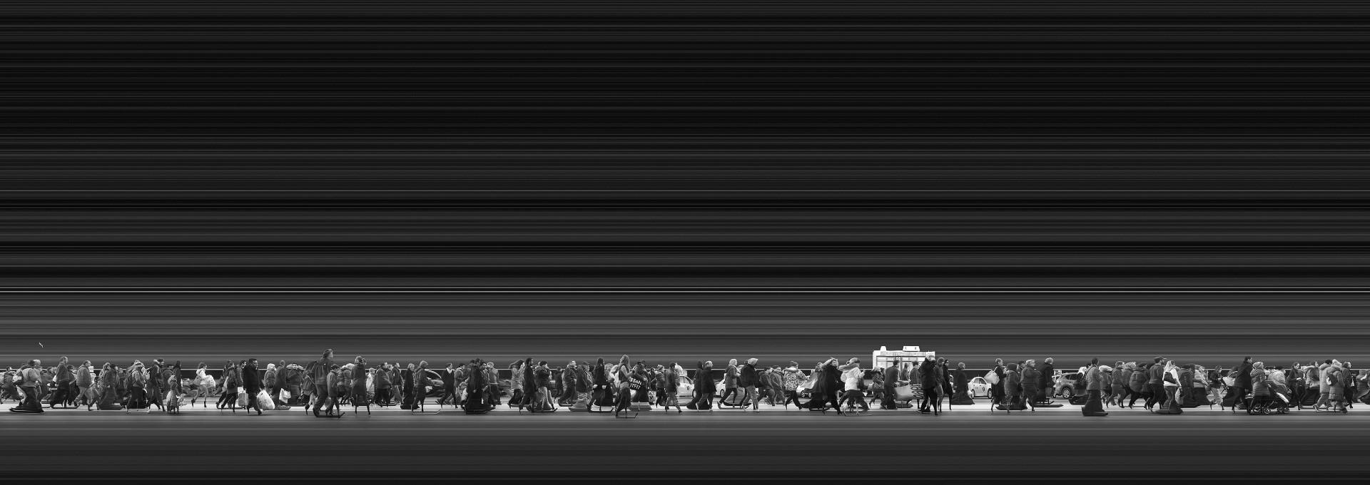 Fotó: Magyar Ádám, Urban Flow 1837 (New York) (Urban Flow sorozat) I Urban Flow 1837 (New York) (Urban Flow series), 2015 © Magyar Ádám/ Courtesy of Faur Zsófi Galéria