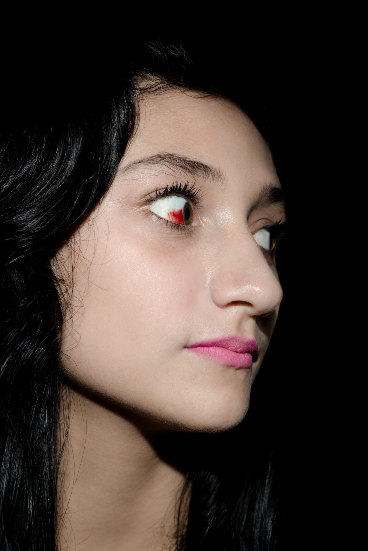 Fotó: Koleszár Adél: Lány Sinaloából, részlet Az erőszak sebei című sorozatból