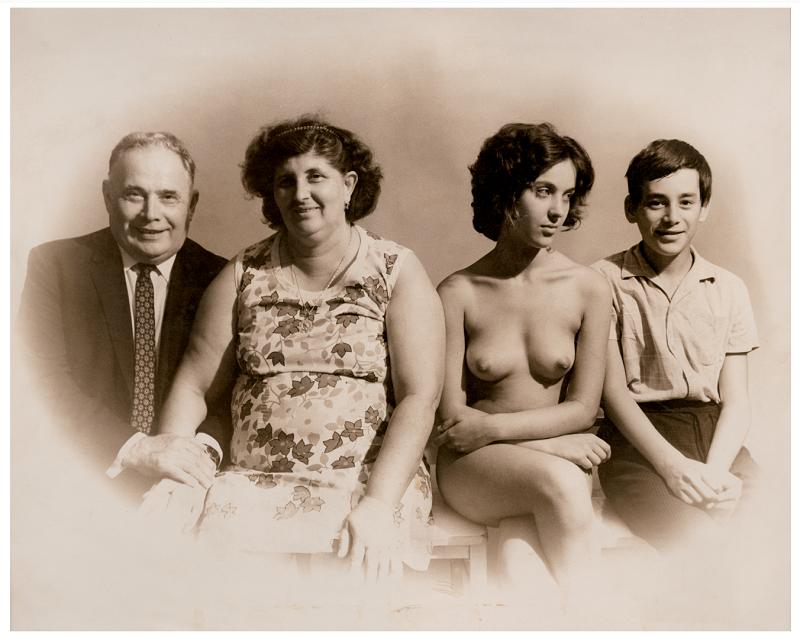 Fotó: Török László, A család I Family, 1972 © Török László