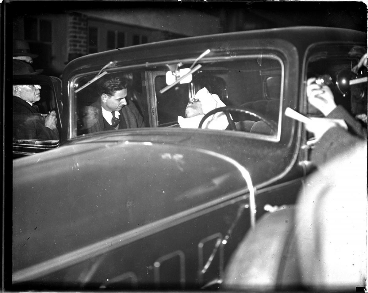 Fotó: Leslie Jones: Egy lövöldözés áldozata, Harry Wolen, alias Davis © Boston Public Library / Leslie Jones Collection