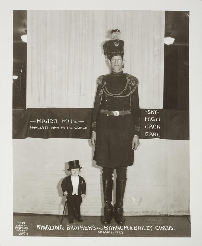 Fotó: Edward J. Kelty: Major Mite és Sky High Jack Earl, 1929 © Collection of Alain Siegel / Edward J. Kelty