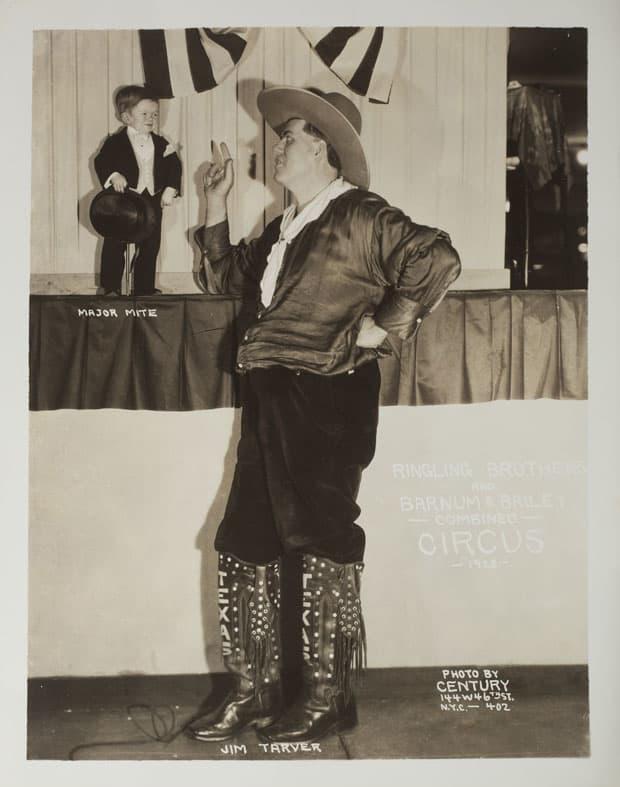 Fotó: Edward J. Kelty: Jim Tarver & Major Mite, 1928 © Collection of Alain Siegel / Edward J. Kelty