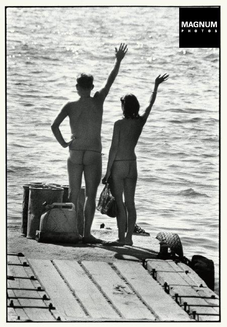 Fotó: Elliott Erwitt: Levant sziget, 1968 © Magnum Photos