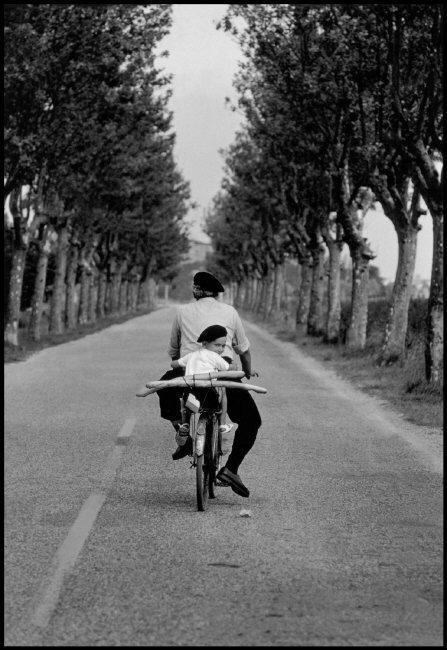 Fotó: Elliott Erwitt: Provence, Franciaország, 1955 © Elliott Erwitt / Magnum Photos