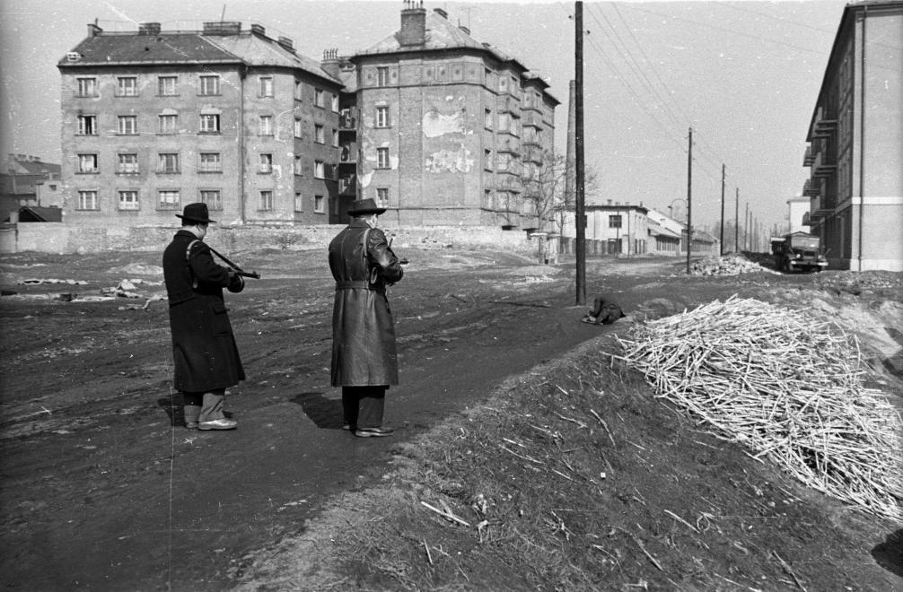 BRFK Hivatala Bűnügyi Technikai Osztály, 1958 © Fortepan / Budapest Főváros Levéltára. Levéltári jelzet: HU.BFL.XV.19.c.10