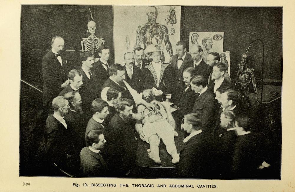 Fotó: Részlet a The Champion Text Book on Embalming című könyvből, 1897