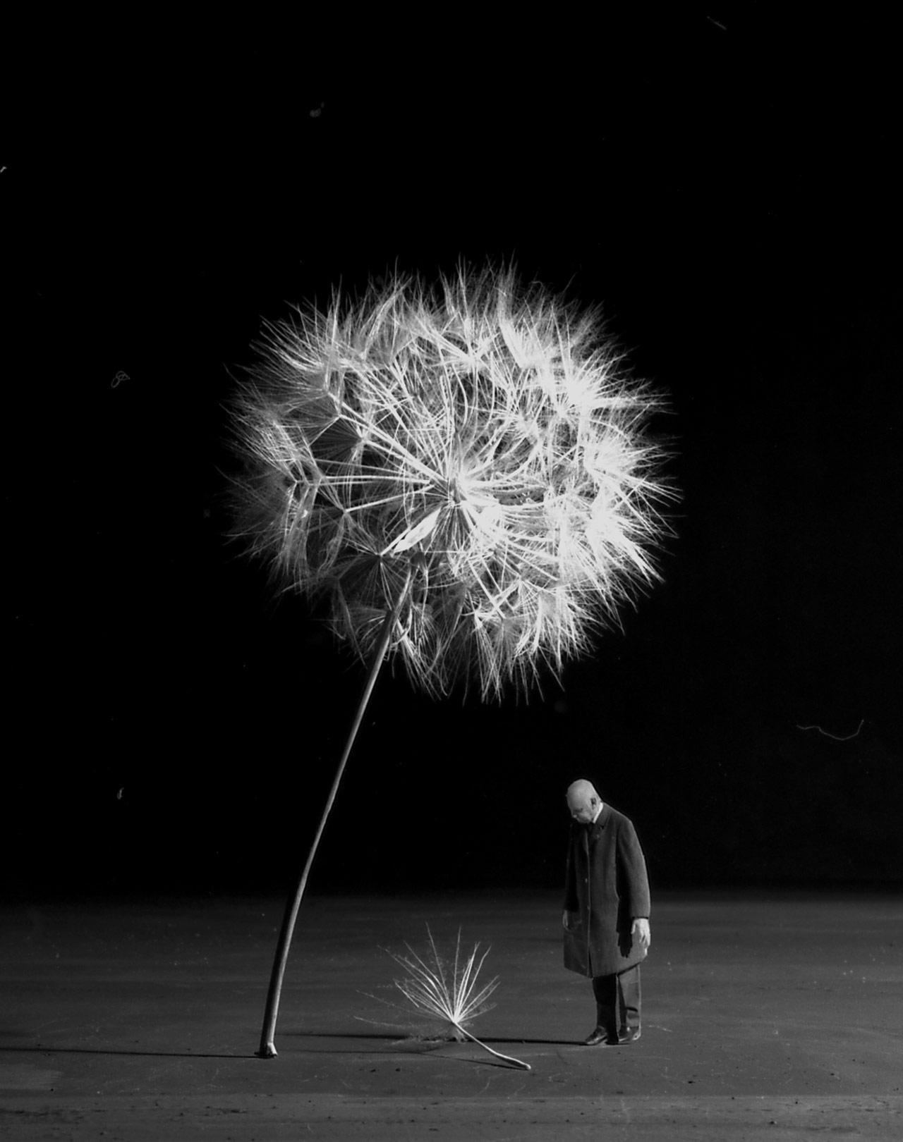 Fotó: Gilbert Garcin: Amikor eljön a szél, 2007 © Gilbert Garcin