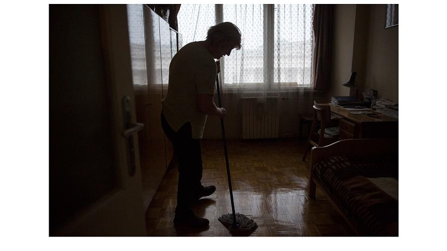 Fotó: Pályi Zsófia: Részlet a 'Kis öregjeim' című sorozatból