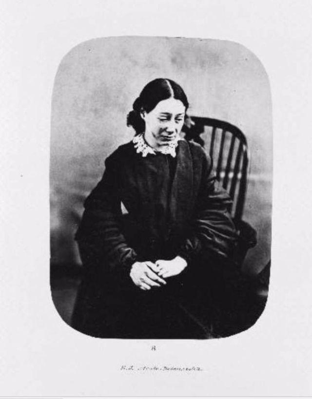 Fotó: Henry Hering:  Eliza Josolyne 23 évesen, 1857. februárban érkezett, diagnózis: akut melankólia © Bethlem Art and History Collections Trust