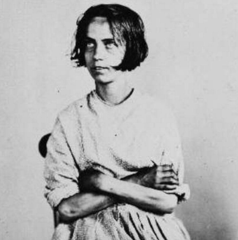 Fotó: Henry Hering: Harriet Jordan, 24 évesen, 1858 májusában érkezett, akut mániát diagnosztizáltak nála © Bethlem Art and History Collections Trust