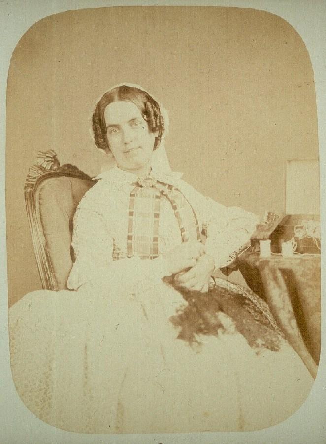 Fotó: Henry Hering: Harriet Jordant 1858 októberében engedték el, 'felélénkült: csendes, szorgalmas és jól viselkedett'. © Bethlem Art and History Collections Trust