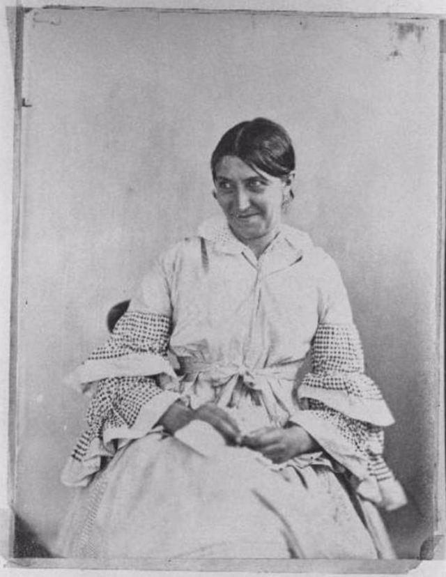Fotó: Henry Hering: Ismeretlen nő © Bethlem Art and History Collections Trust
