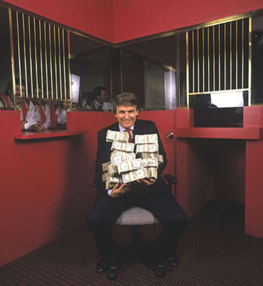 Fotó: Harry Benson<br />Donald Trump. Atlantic City. New Jersey 1990<br />© Harry Benson/ Courtesy Staley-Wise Gallery, New York