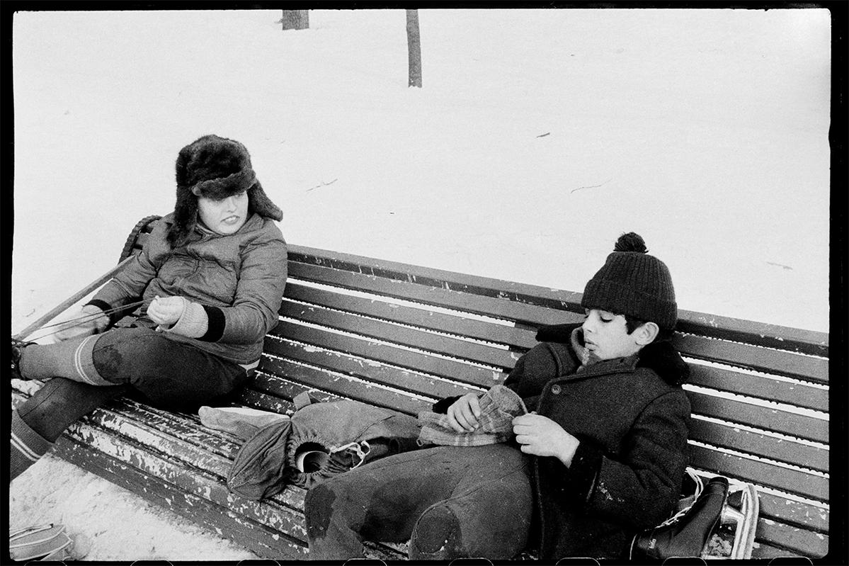 Fotó: Mása Ivasincova: Leningrad, USSR, 1976 © Masha Galleries