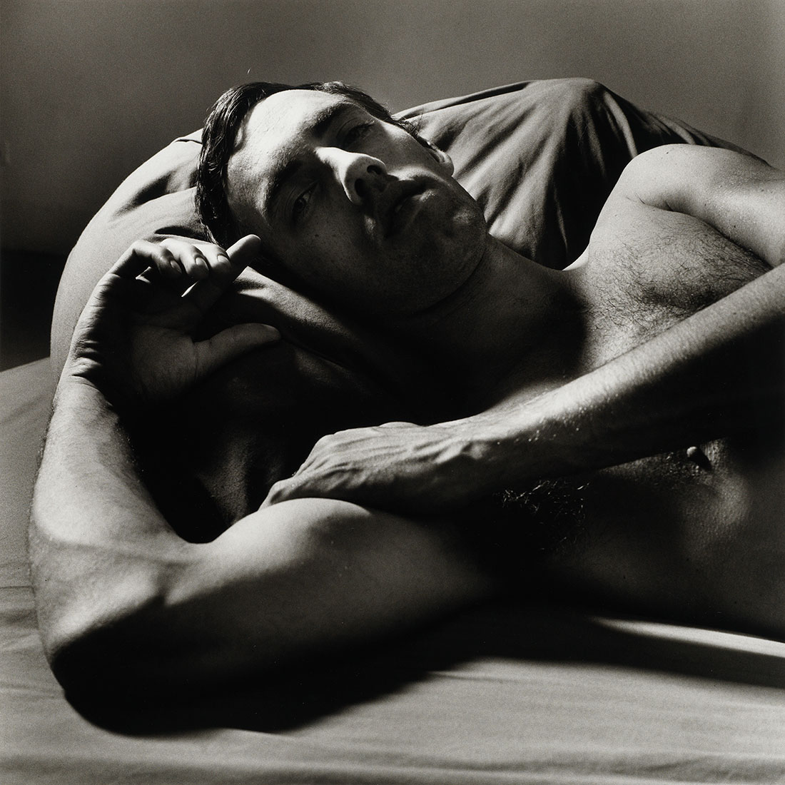 David Wojnarowicz Reclining (2)<br />1981<br />Peter Hujar<br />Tirage gélatino-argentique, The Morgan Library & Museum, achat en 2013 grâce au Charina Endowment Fund<br />© Peter Hujar Archive, LLC, courtesy Pace/MacGill Gallery, New York and Fraenkel Gallery, San Francisco