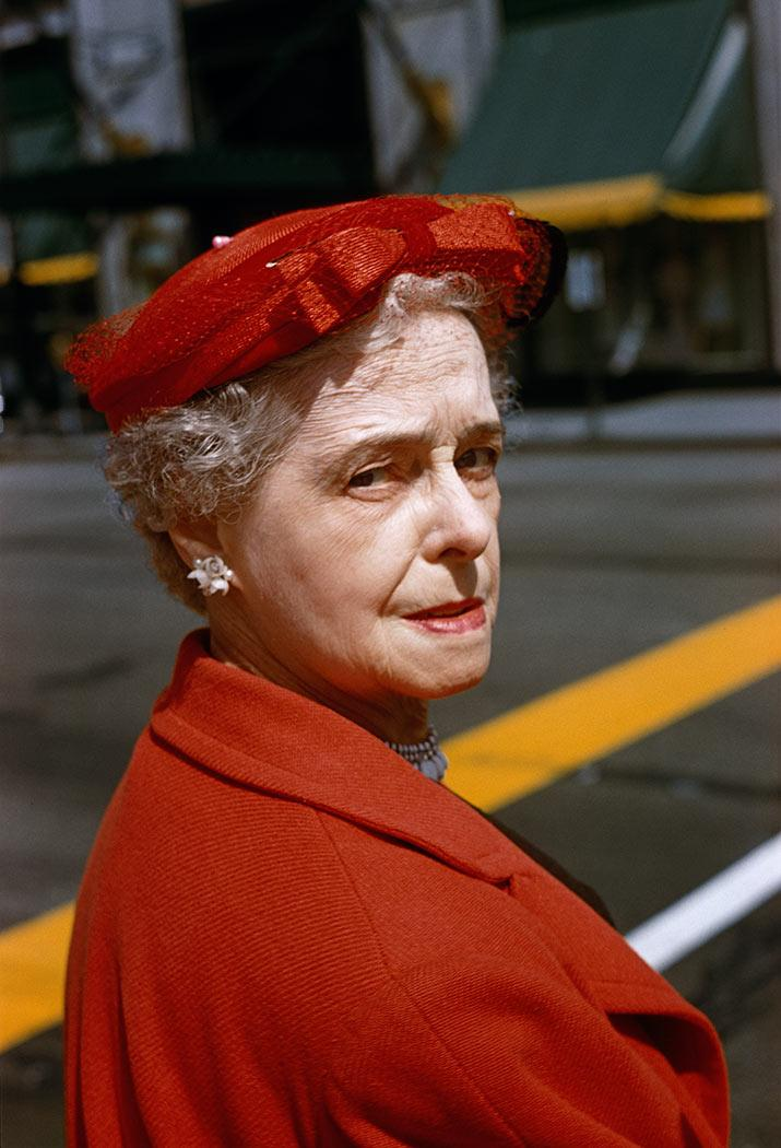 Fotó: Vivian Maier: 1958. május © Maloof Collection