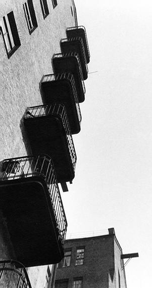 Fotó: © Alexander Rodchenko<br />Balconies<br />1925