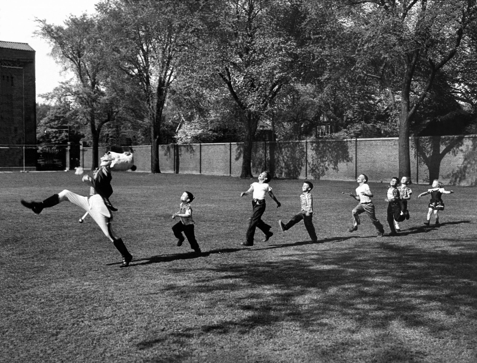 Fotó: Alfred Eisenstaedt: Michigan Egyetem, USA, 1951 © Time & Life Pictures/Getty Images
