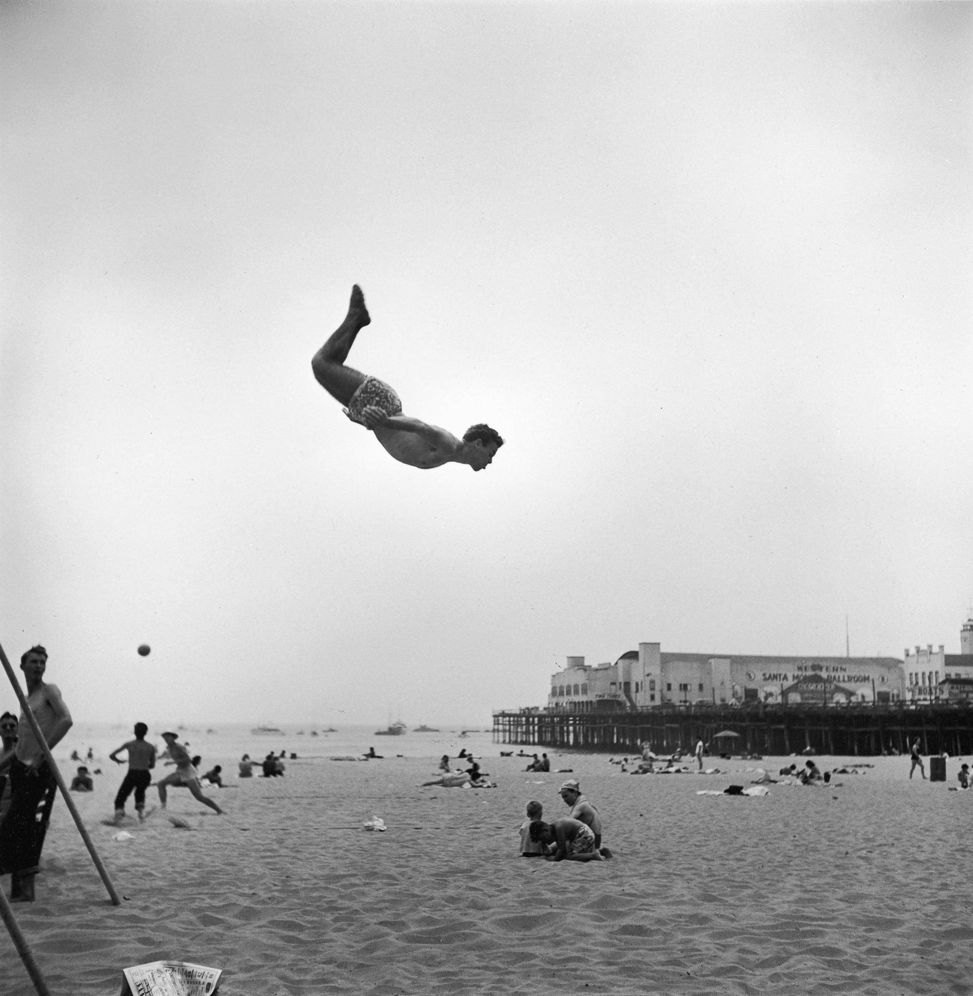 Fotó: Loomis Dean: Santa Monica, USA, 1948 © Time & Life Pictures/Getty Images